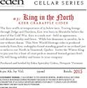 Picture of King In The North (Cellar Series #3)