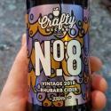 Picture of No. 8 Vintage 2018 Rhubarb Cider