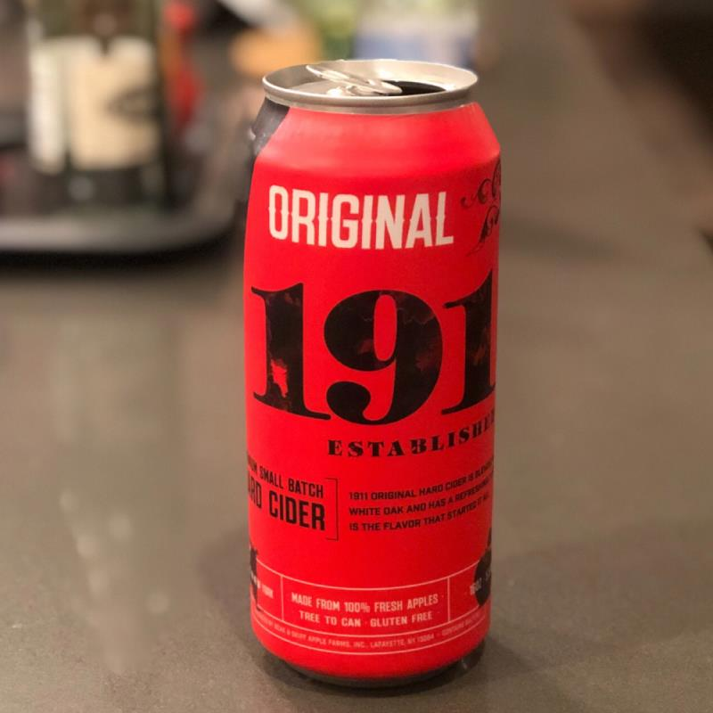 picture of 1911 1911 Original Hard Cider submitted by Dawilliams458