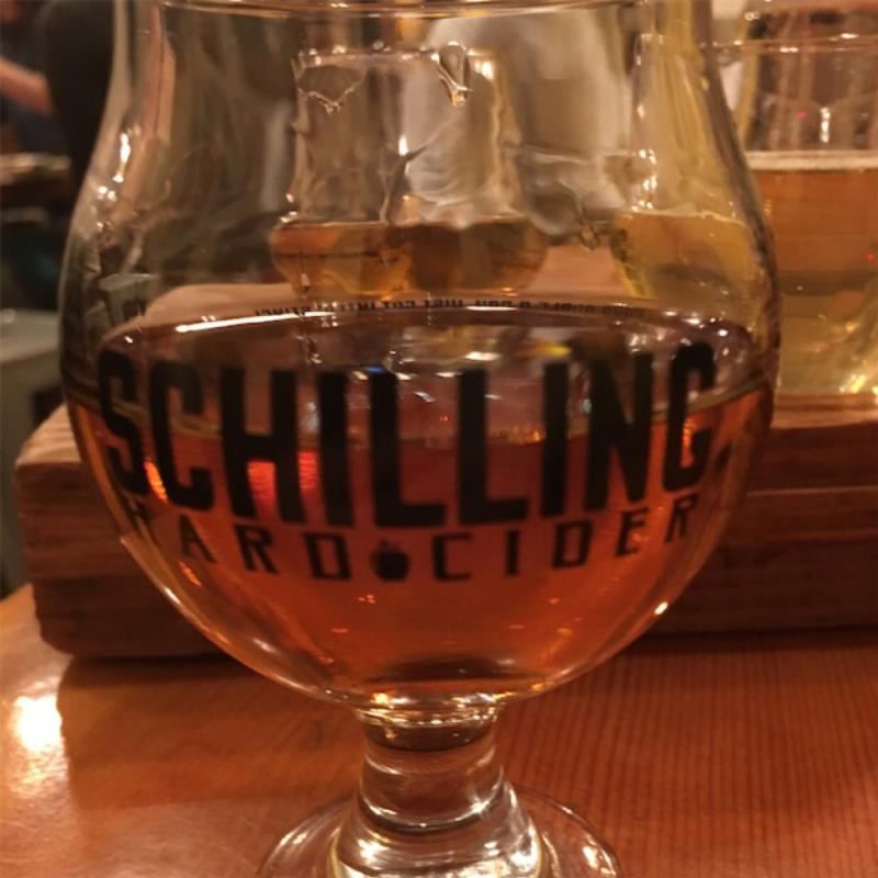 picture of Schilling Cider 2015 Cabenet Anniversary Barrel submitted by kiyose