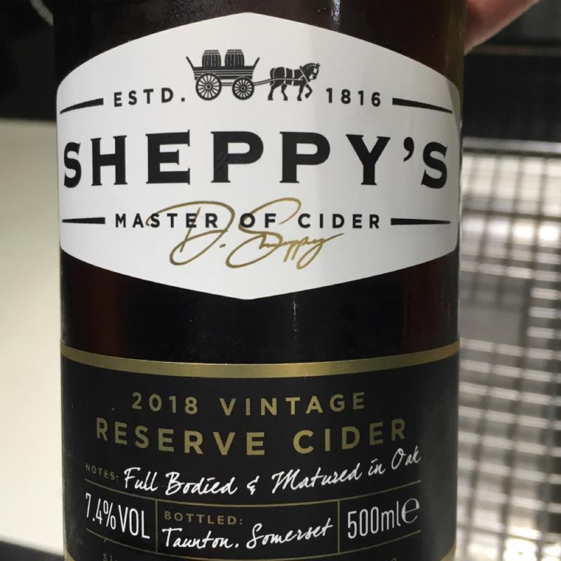 picture of Sheppy's 2018 vintage reserve submitted by Judge