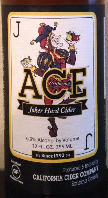 picture of ACE Hard Ciders Joker Hard Cider submitted by cidersays