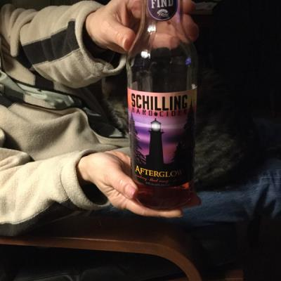 picture of Schilling Cider Afterglow submitted by lizsavage