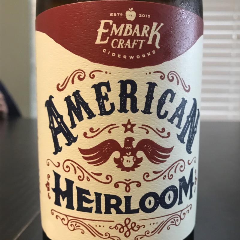 picture of Embark Craft Ciderworks American Heirloom submitted by KariB