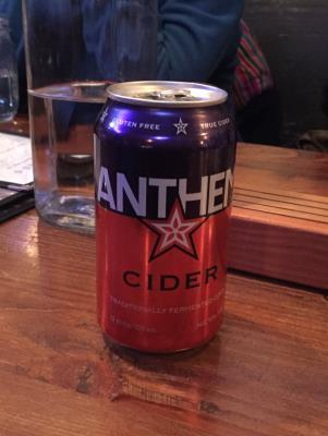 picture of Anthem Cider Anthem Cider submitted by herharmony23
