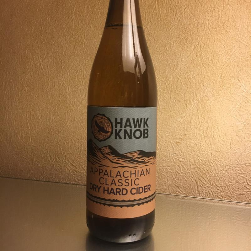 picture of Hawk Knob Appalachian classic dry hard cider submitted by Stratocruiser