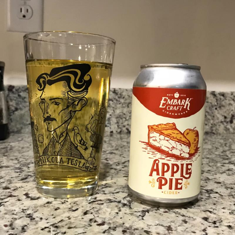 picture of Embark Craft Ciderworks Apple Pie submitted by noses