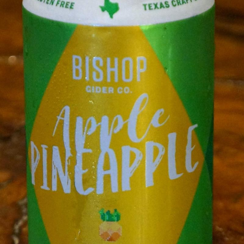 picture of Bishop Cider Co. Apple Pineapple submitted by KariB