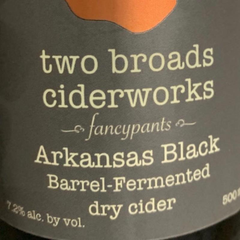 picture of Two Broads Ciderworks Arkansas Black submitted by KariB