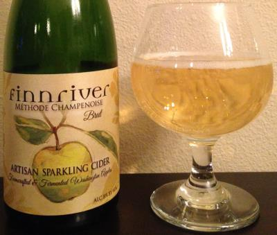 picture of Finnriver Cidery Artisan Sparkling Cider Brut submitted by cidersays