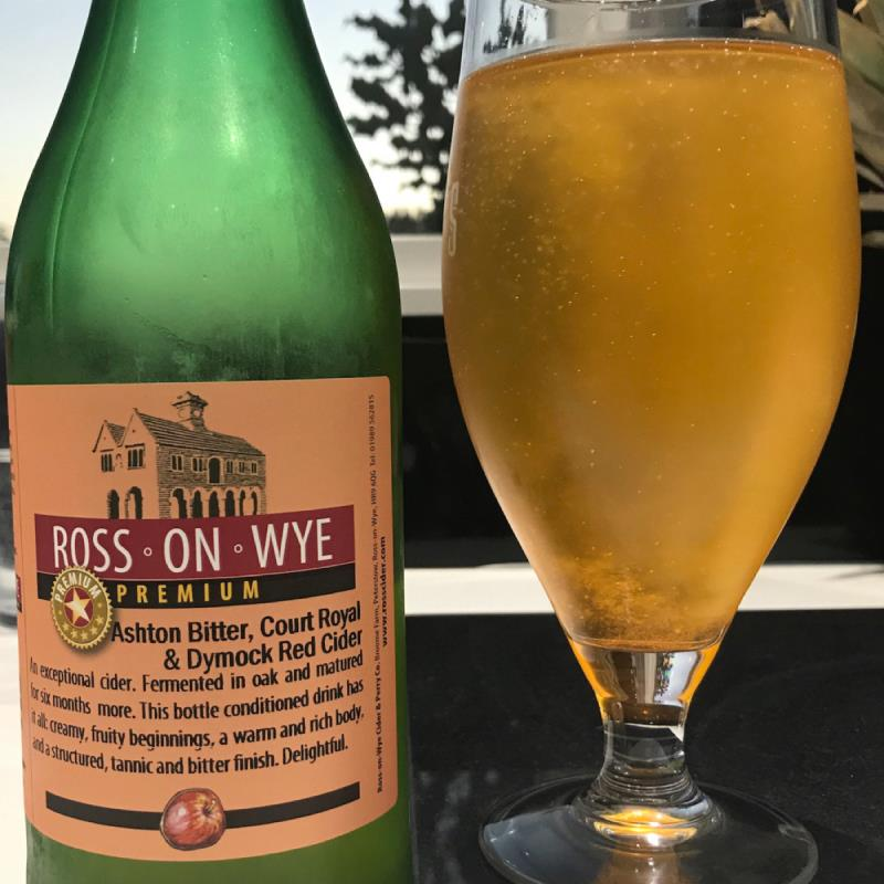 picture of Ross-on-Wye Cider & Perry Co Ashton Bitter, Court Royal. & Dymock Red Cider submitted by Judge