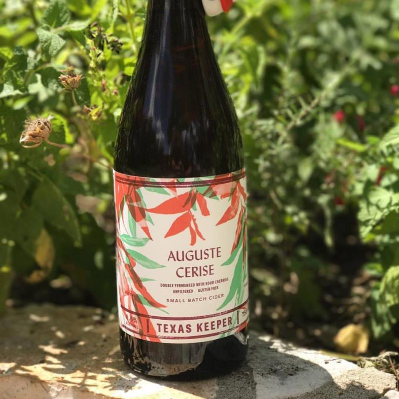 picture of Texas Keeper Cider Auguste Cerise submitted by KariB