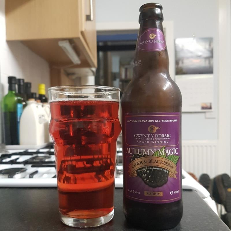 picture of Gwynt y Ddraig Cider Autumn Magic submitted by BushWalker