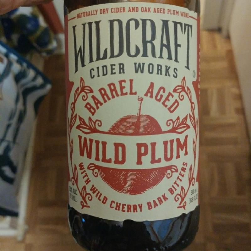 picture of Wildcraft Cider Works Barrel Aged Wild Plum with Bitters submitted by Molkot