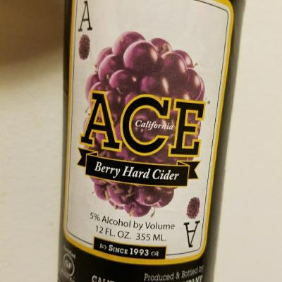 picture of ACE Hard Ciders Berry submitted by KellyStroede