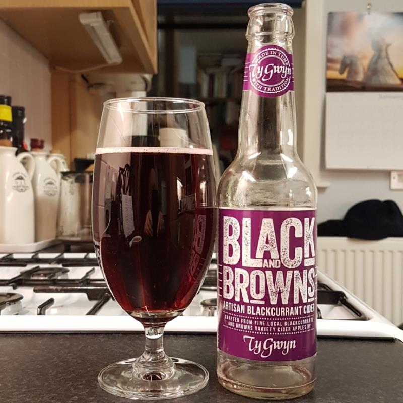 picture of Ty Gwyn Black & Brown's Blackcurrant submitted by BushWalker
