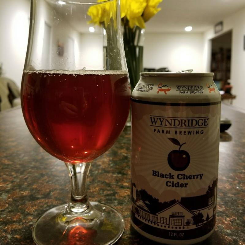 picture of Wyndridge Farm Cidery Black Cherry submitted by CiderTable