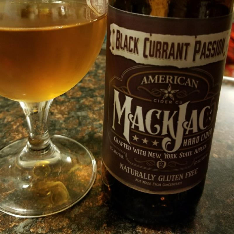picture of MackJac Hard Cider Black Currant Passion submitted by CiderTable