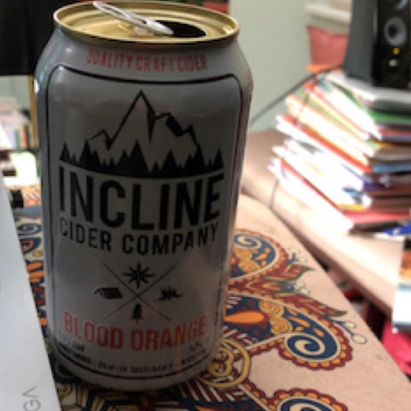 picture of Incline Cider Company Blood Orange submitted by herharmony23