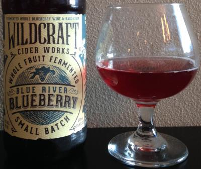 picture of Wildcraft Cider Works Blue River Blueberry submitted by cidersays