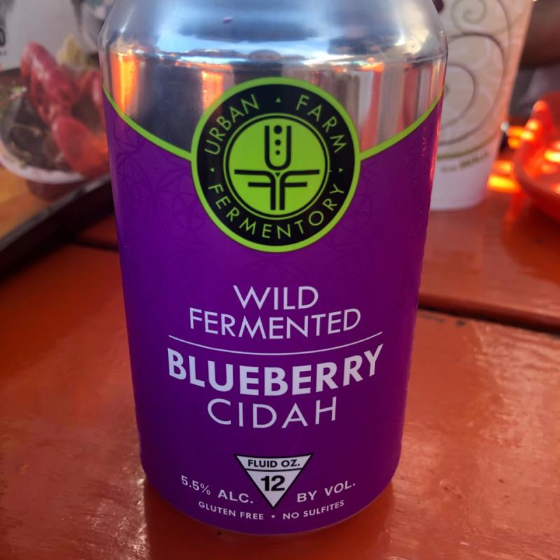 picture of Urban Farm Fermentory Blueberry Cidah submitted by emmisiewicz