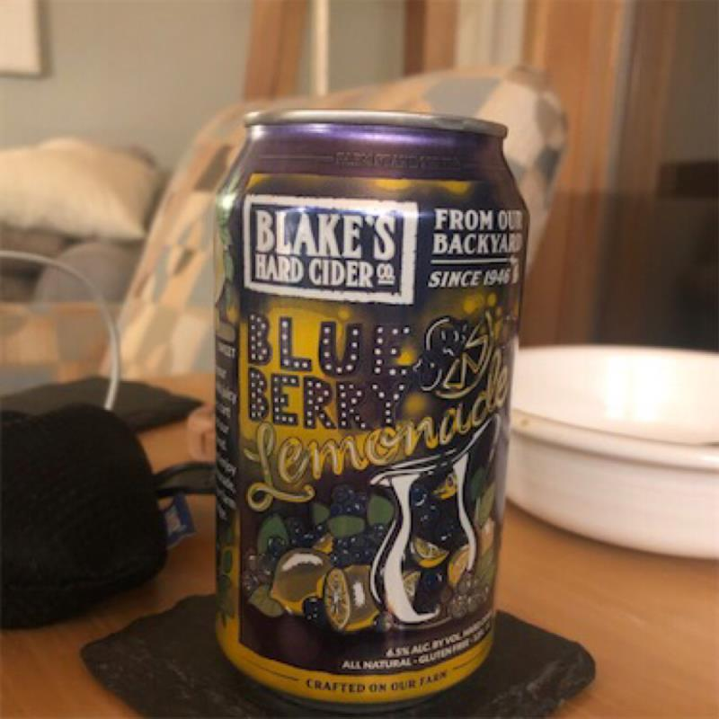 picture of Blake's Hard Cider Co. Blueberry Lemonade submitted by jblom