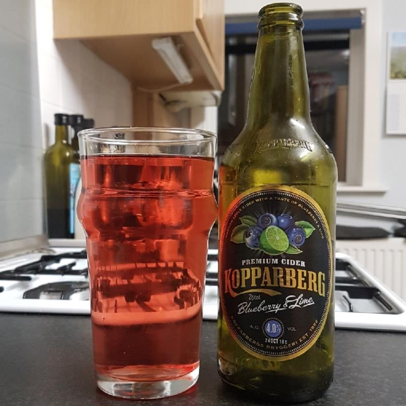 picture of Kopparberg Brewery Blueberry & Lime submitted by BushWalker