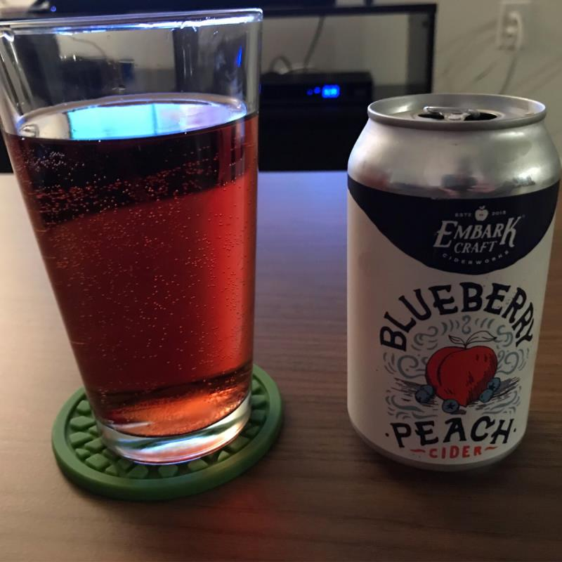 picture of Embark Craft Ciderworks Blueberry Peach submitted by noses