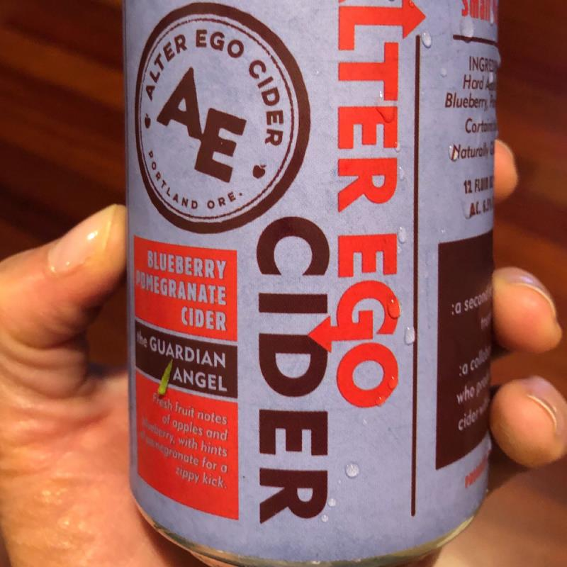 picture of Alter Ego Cider Blueberry Pomegranate submitted by CiderGirl3