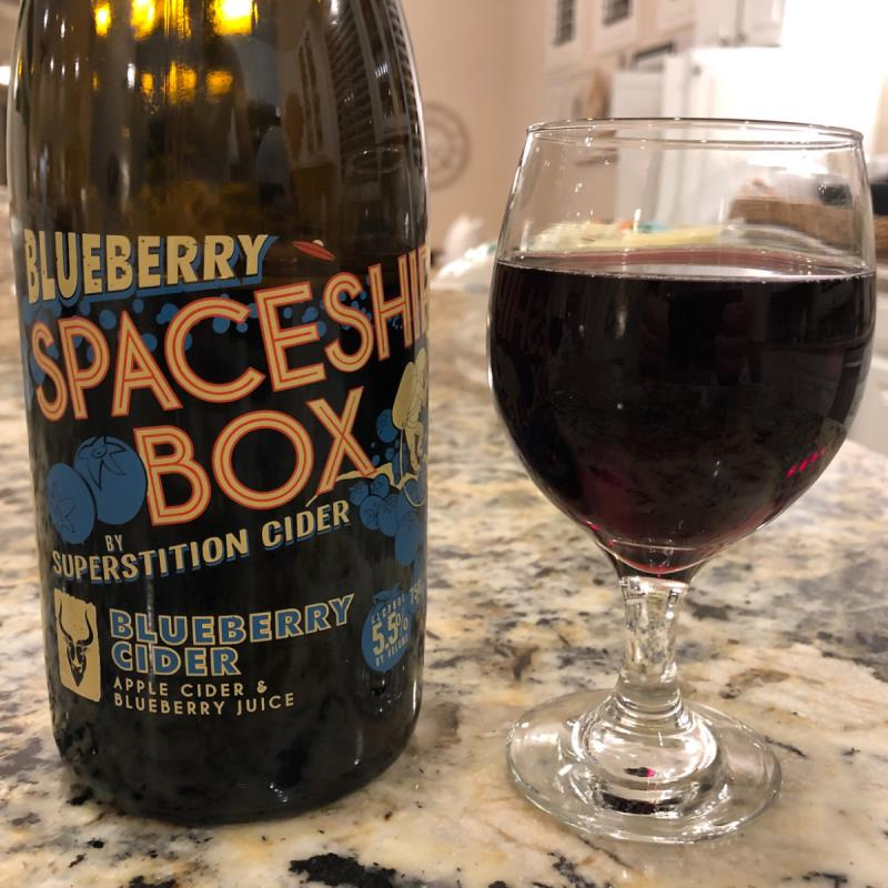picture of Superstition Meadery Blueberry Spaceship Box submitted by PricklyCider