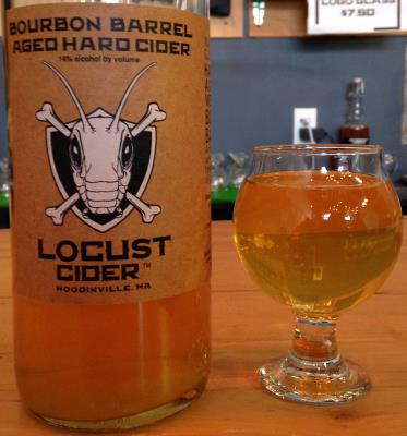 picture of Locust cider Bourbon Barrel Aged submitted by cidersays
