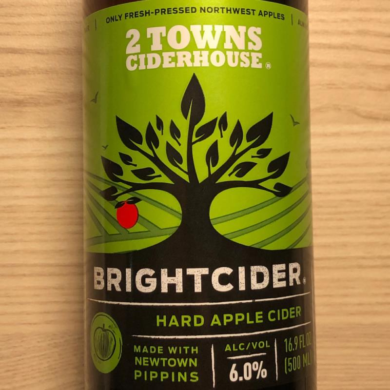 picture of 2 Towns Ciderhouse Brightcider submitted by PricklyCider