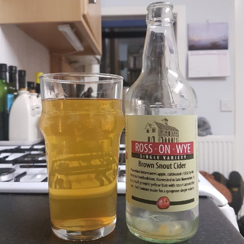 picture of Ross-on-Wye Cider & Perry Co Brown Snout submitted by BushWalker