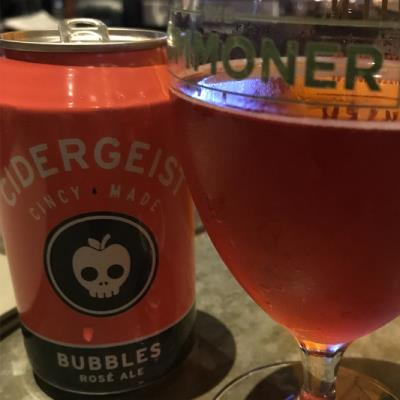 picture of Rhinegeist Cidergeist Bubbles Rose Ale submitted by OliveCider