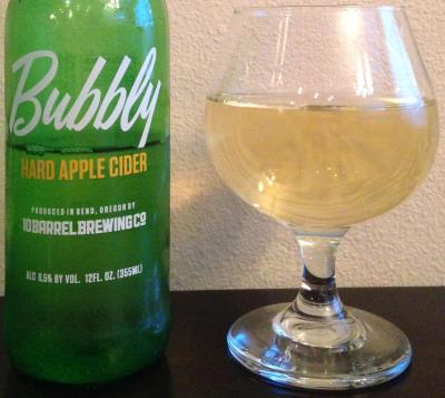 picture of 10 Barrel Brewing Co Bubbly Hard Apple Cider submitted by cidersays