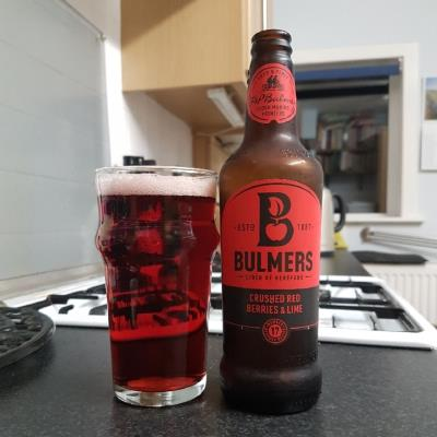 picture of Bulmer's Cider Bulmer's Crushed Red Berries & Lime submitted by BushWalker