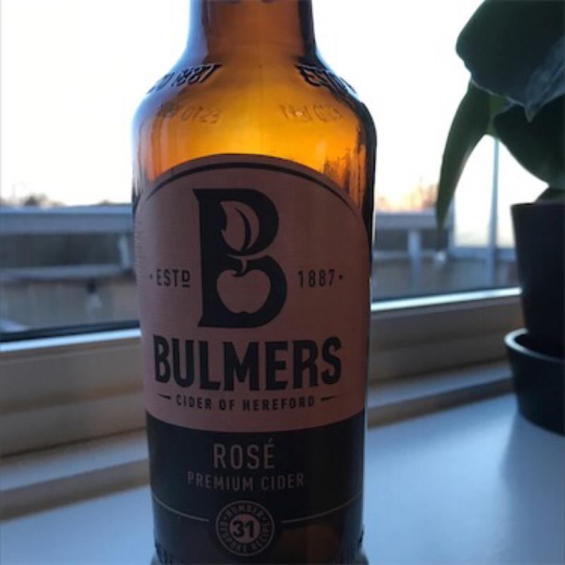 picture of Bulmer's Cider Bulmers Rosé submitted by ABG