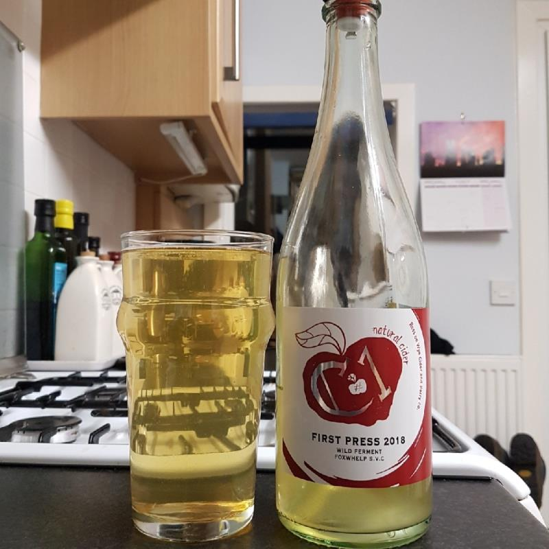 picture of Ross-on-Wye Cider & Perry Co C1 First Press 2018 submitted by BushWalker