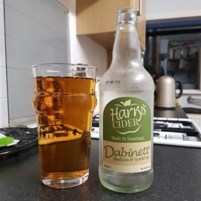 picture of Harry's Cider Dabinett Medium & Sparkling submitted by BushWalker