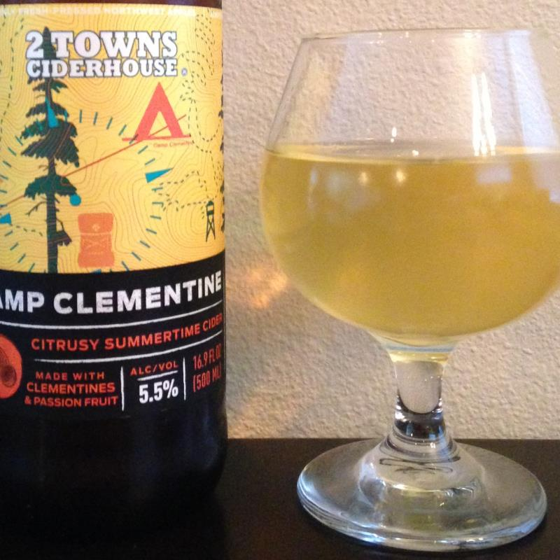 picture of 2 Towns Ciderhouse Camp Clementine submitted by cidersays