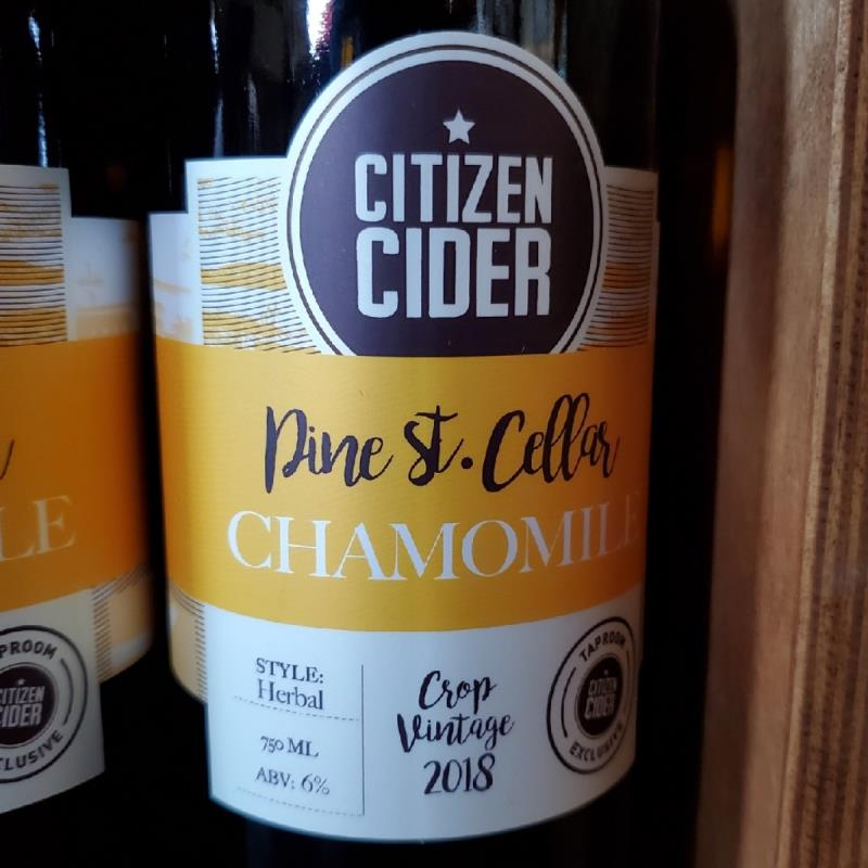picture of Citizen Cider Chamomile submitted by TonyaStrahler