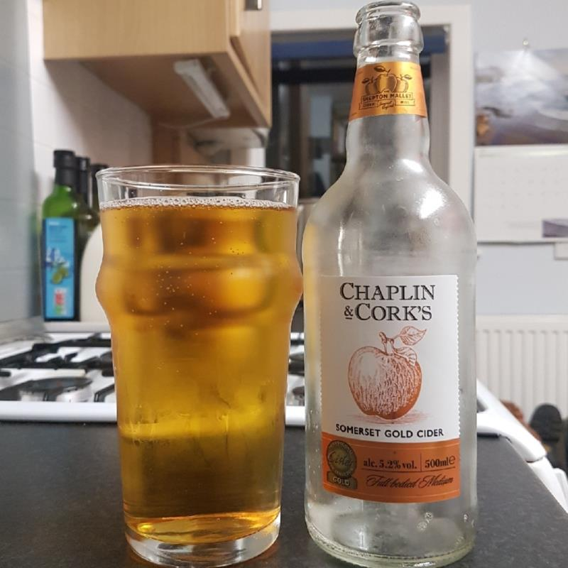 picture of The Shepton Mallet Cider Mill Chaplin & Cork's Gold Cider submitted by BushWalker