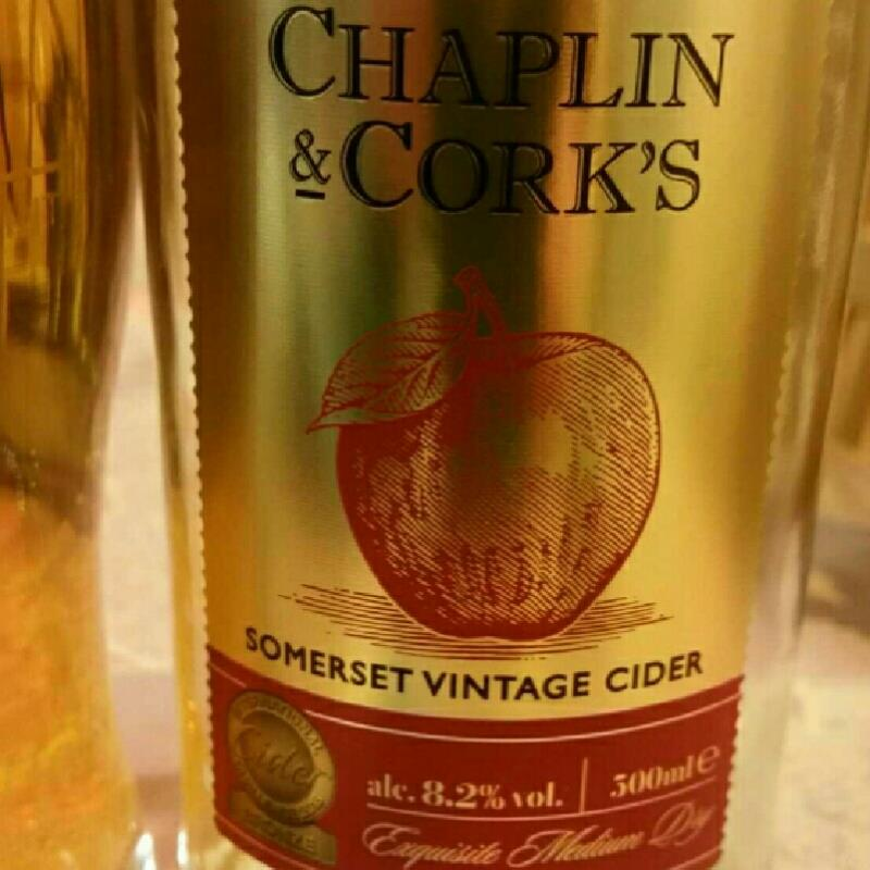 picture of The Shepton Mallet Cider Mill Chaplin & Cork's Somerset Vintage Cider submitted by danlo