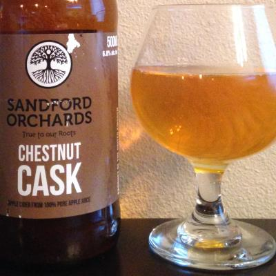 picture of Sandford Orchards Chestnut Cask submitted by cidersays