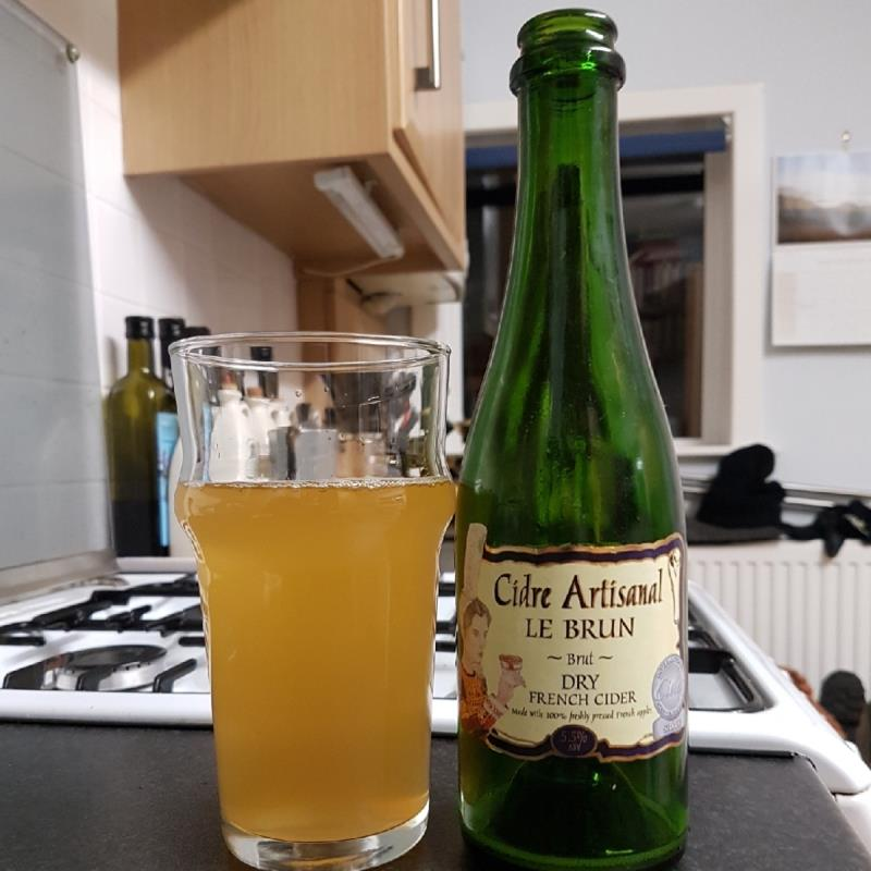 picture of Le Brun Cidre Artisanal Le Brun Brut submitted by BushWalker