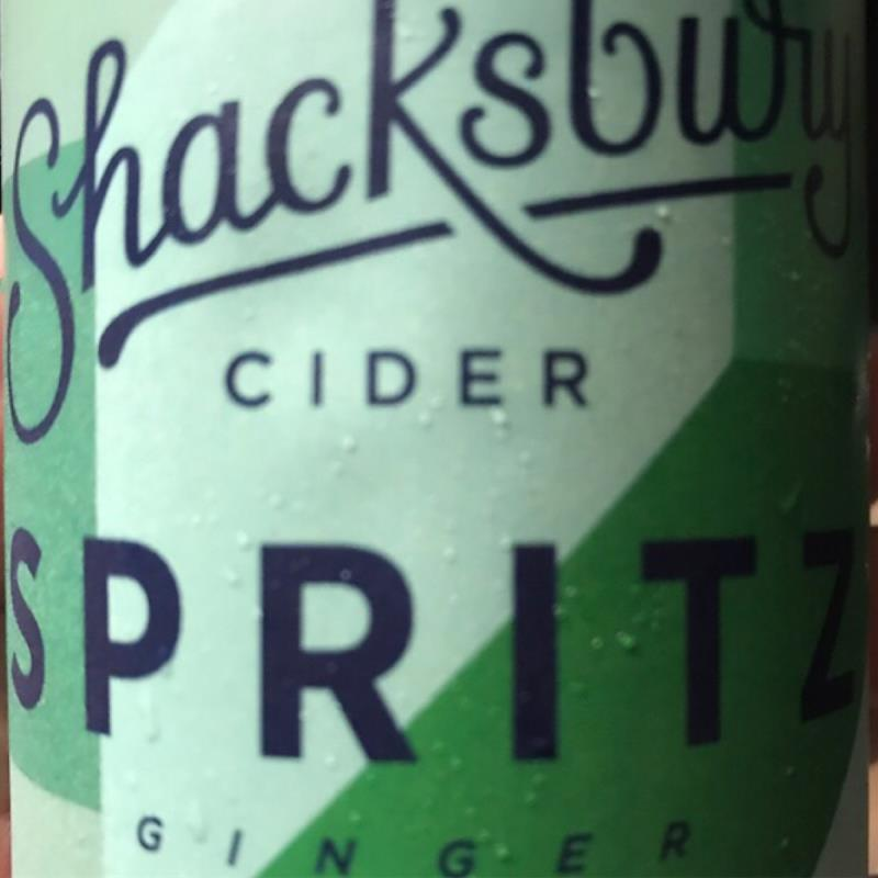 picture of Shacksbury Cider Spritz - Ginger submitted by KariB