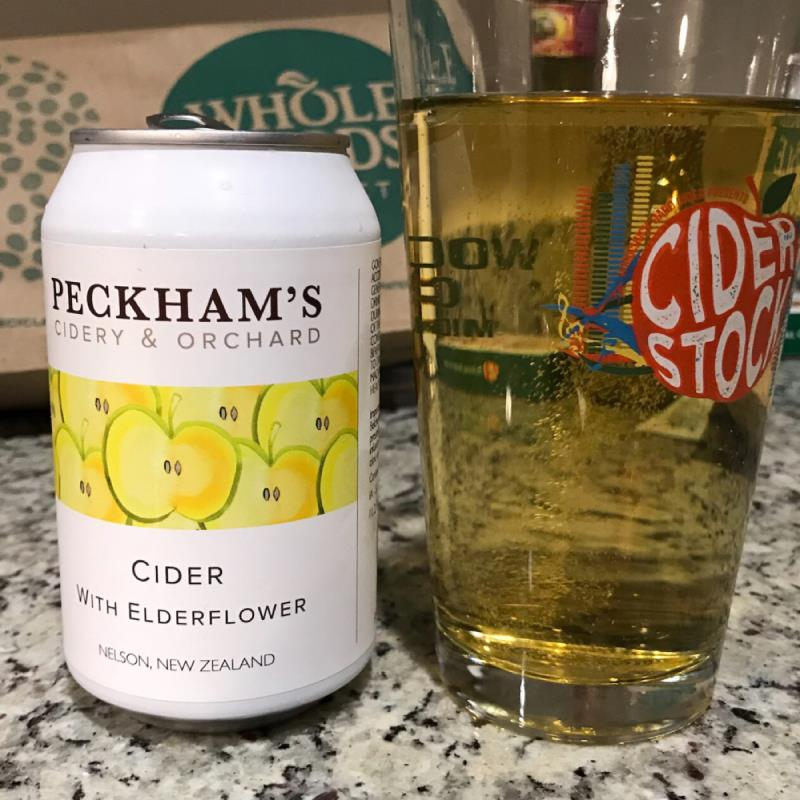 picture of Peckham's Cidery & Orchard Cider with Elderflower submitted by noses