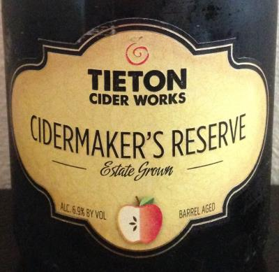 picture of Tieton Cider Works Cidermaker's Reserve submitted by cidersays