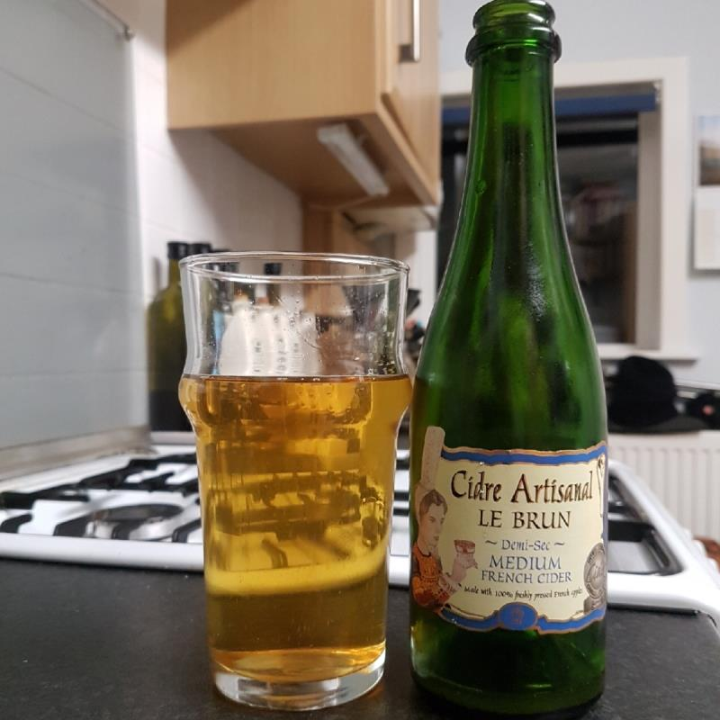 picture of Le Brun Cidre Artisanal Le Brun Demi-sec submitted by BushWalker