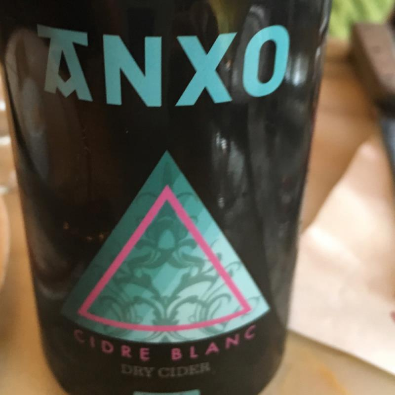 picture of ANXO Cidre Blanc submitted by Danie
